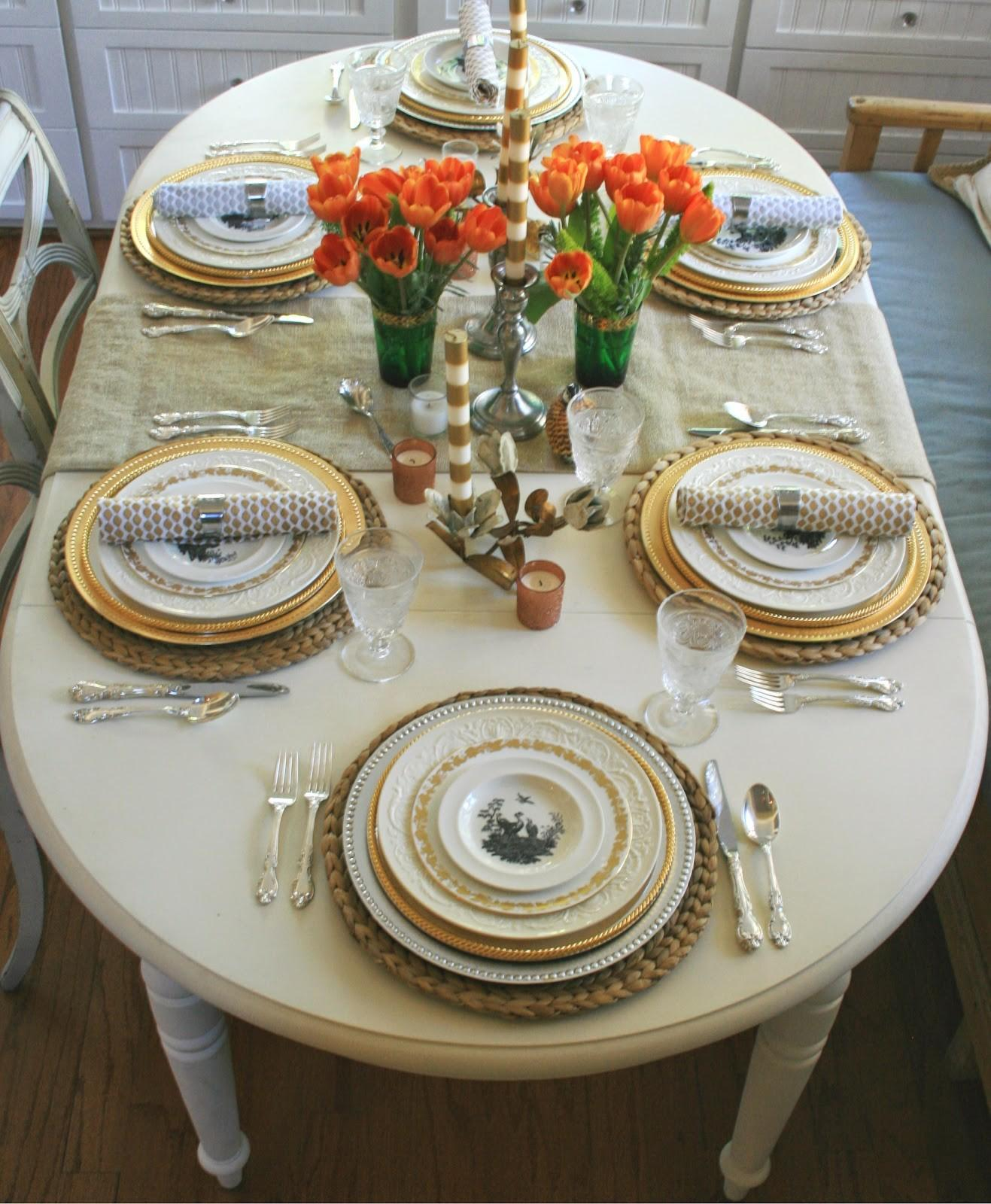 Ciao Newport Beach Thanksgiving Table All Set