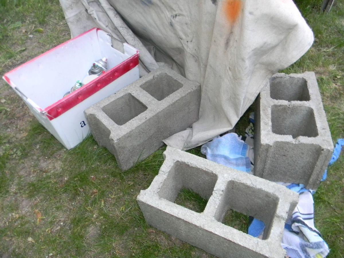 Cinder Block Bench Furniture Trend Home Design Decor