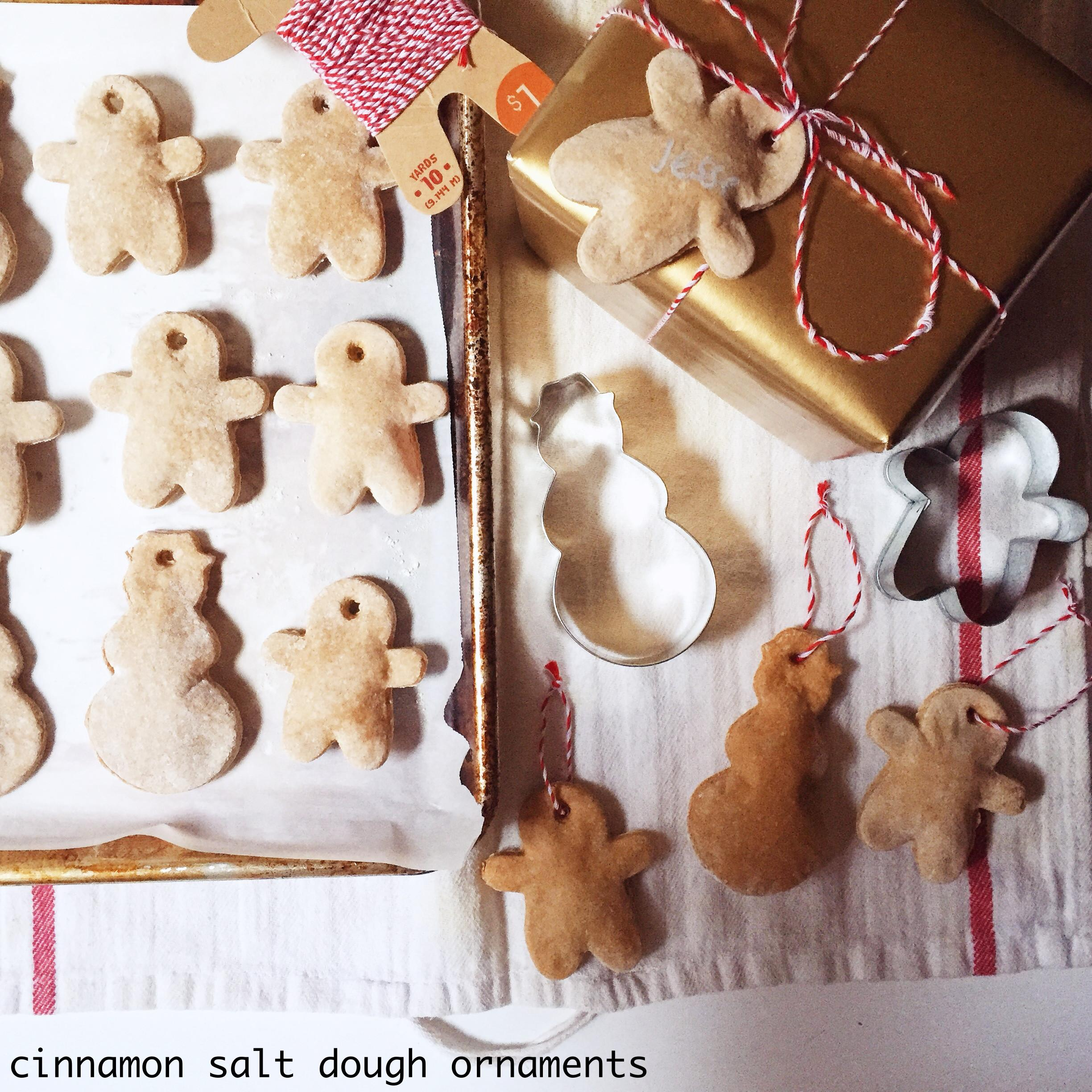 Cinnamon Salt Dough Ornaments Feasting Apartment