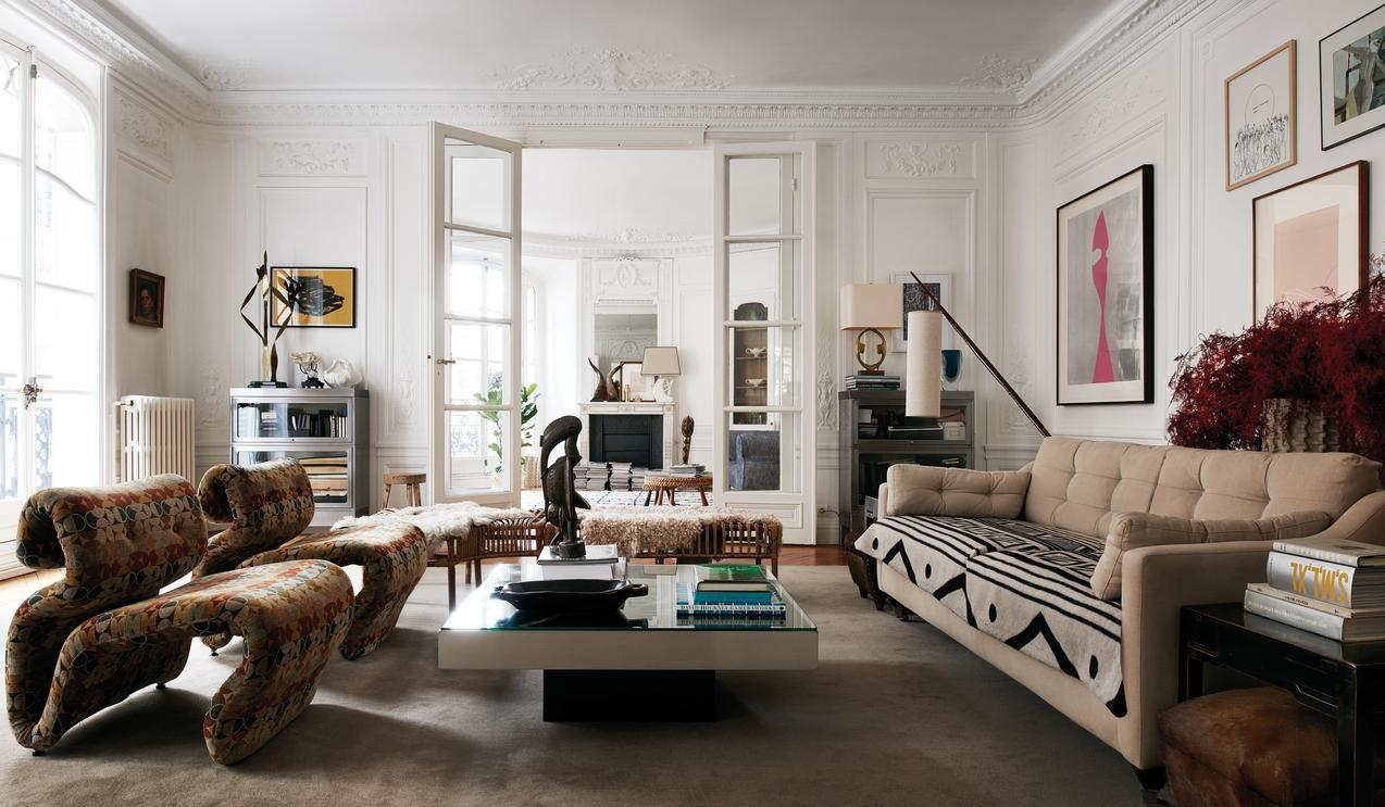 Clare Waight Keller Paris Apartment Habitually Chic