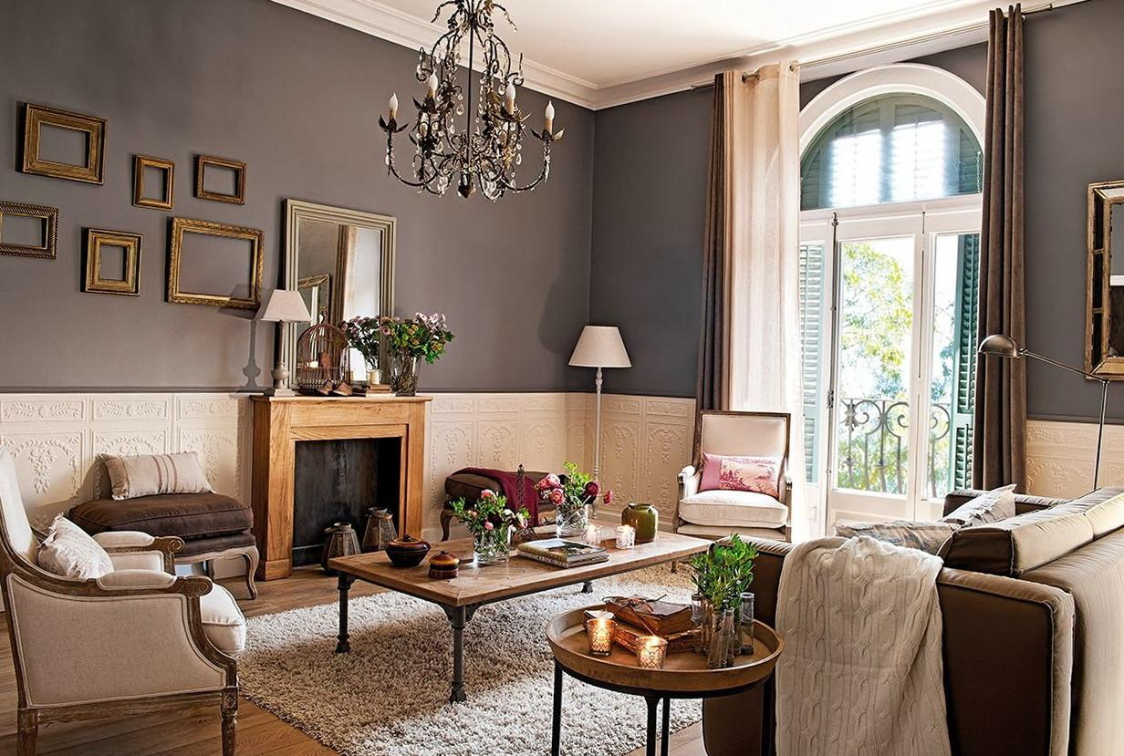 Classic Apartment Barcelona Home Decorating Excellence