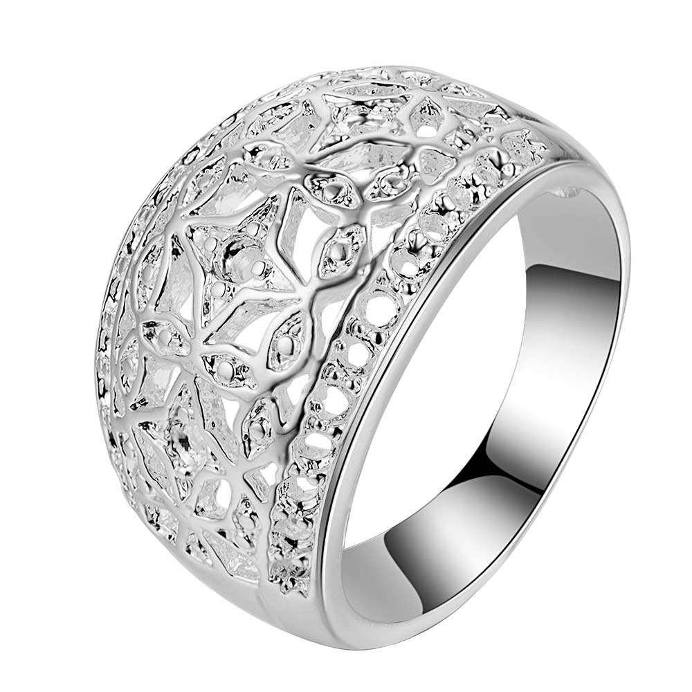 Classic Arc Carve Pattern Wholesale 925 Jewelry Silver