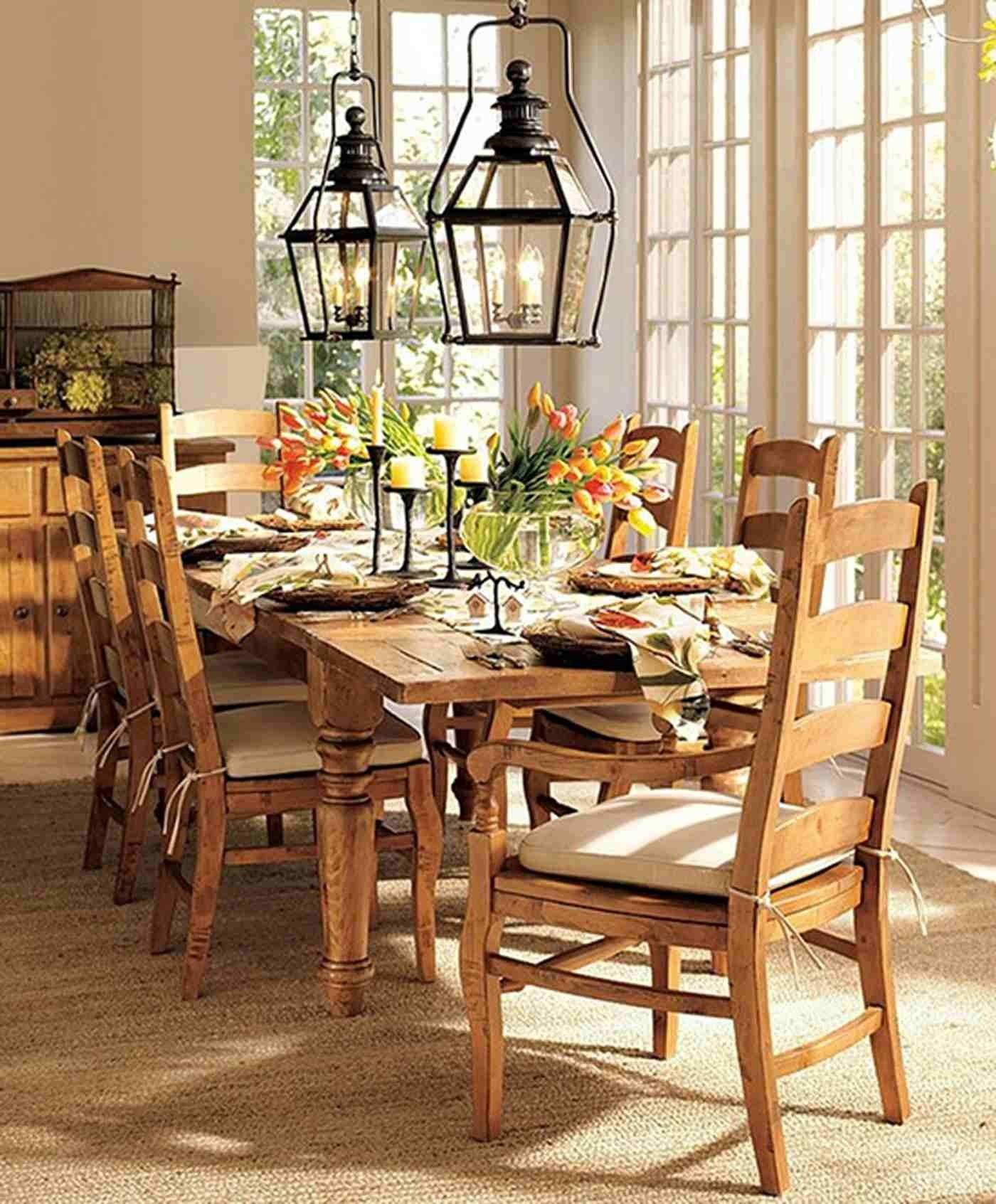 Classic Dining Room Wooden Table Pendant Lamp