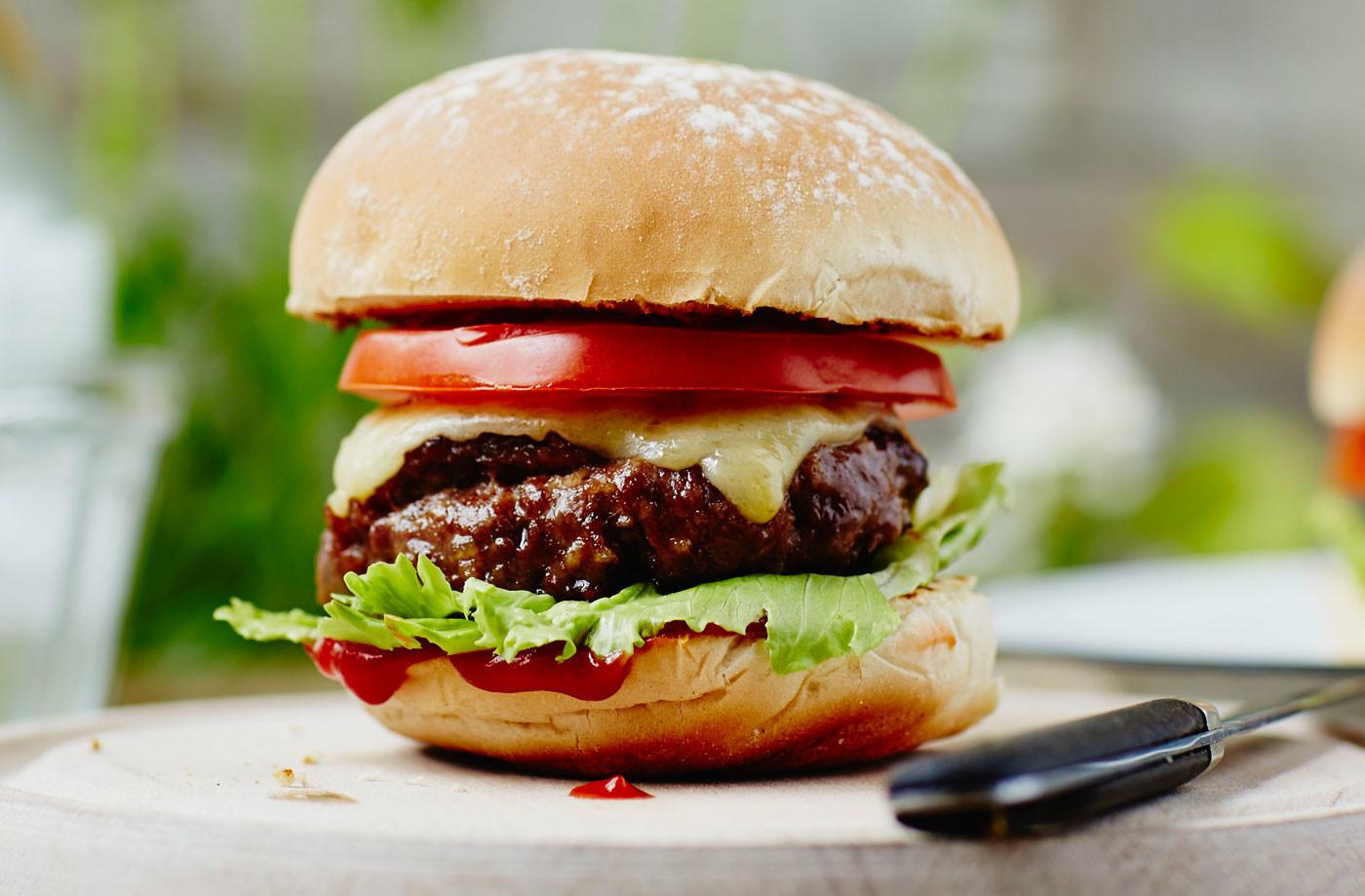 Classic Homemade Burger Recipe Recipes Tesco