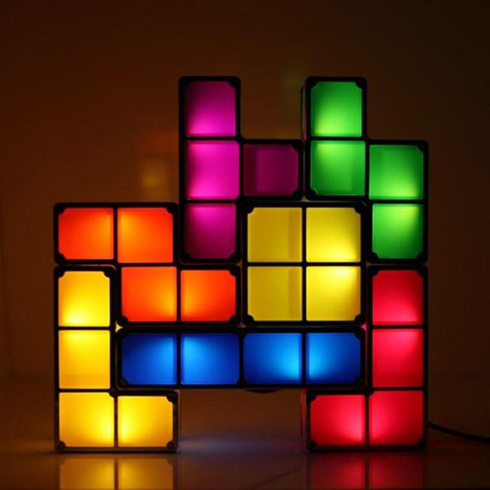Classic Innovative Style Stackable Tetris Pieces Shaped