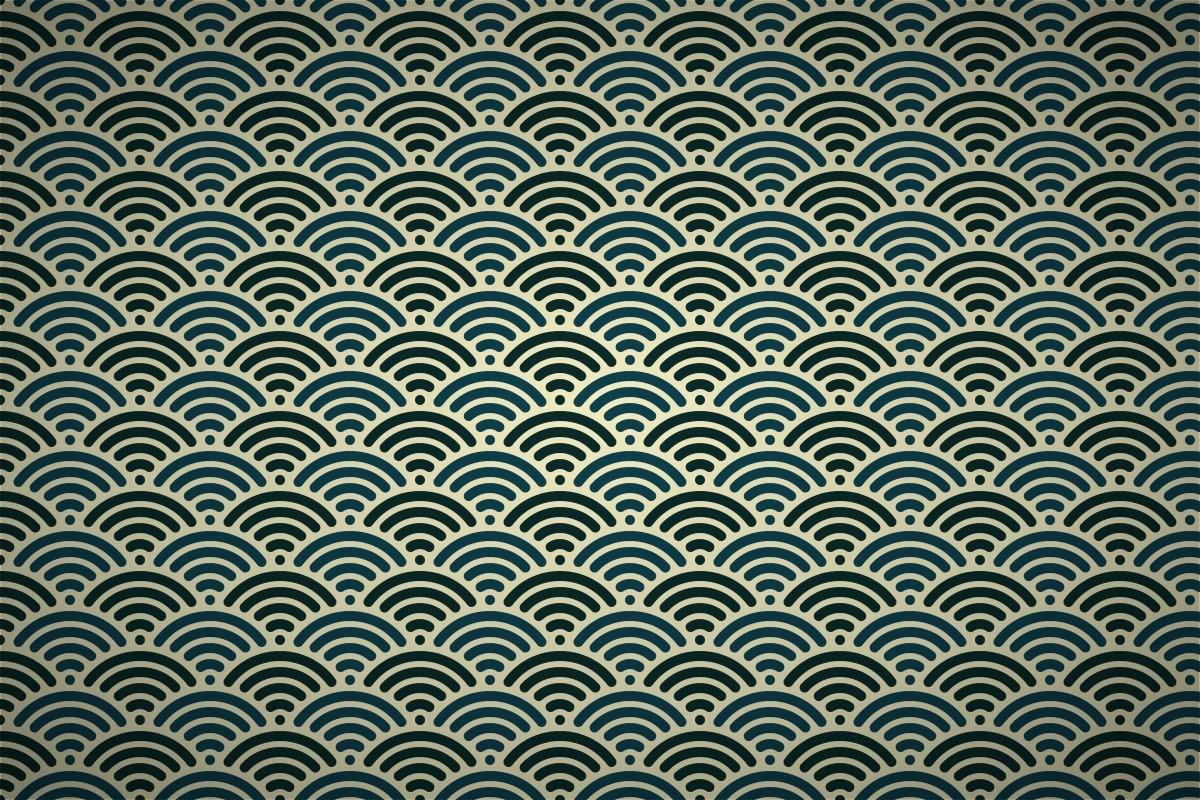 Classic Japanese Wave Patterns