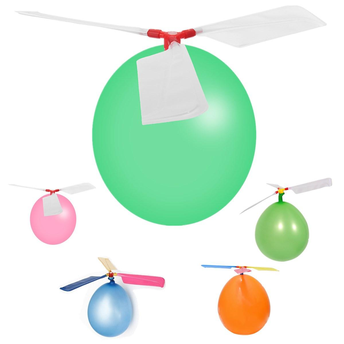 Classic Outdoor Game Helicopter Balloons Flying Diy Flight