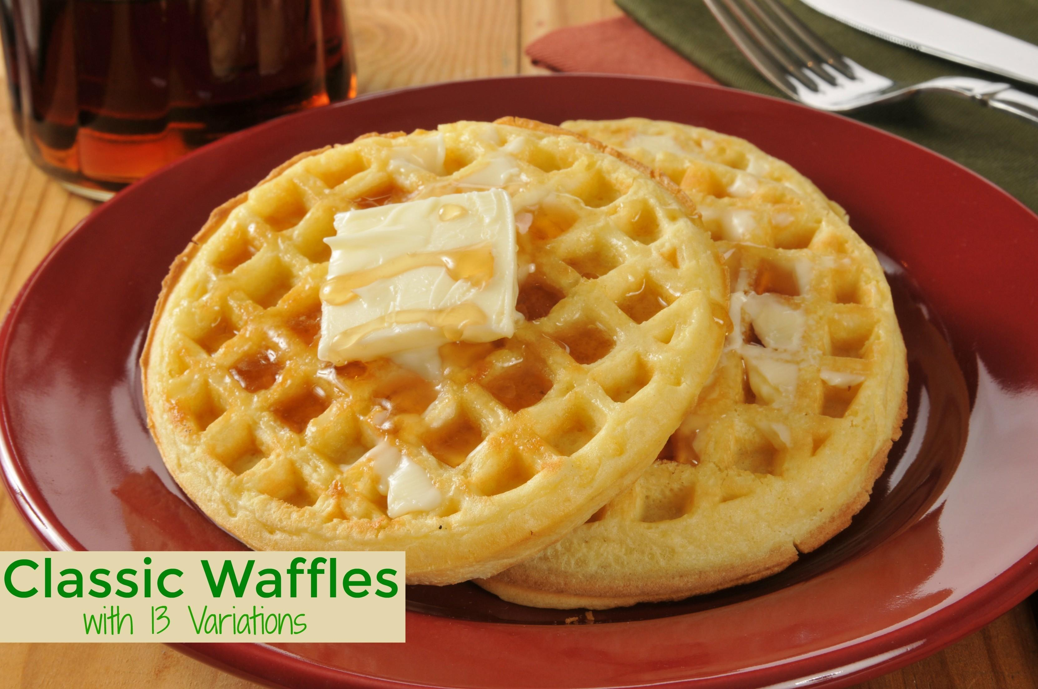 Classic Waffle Recipe Variations Savory Experiments