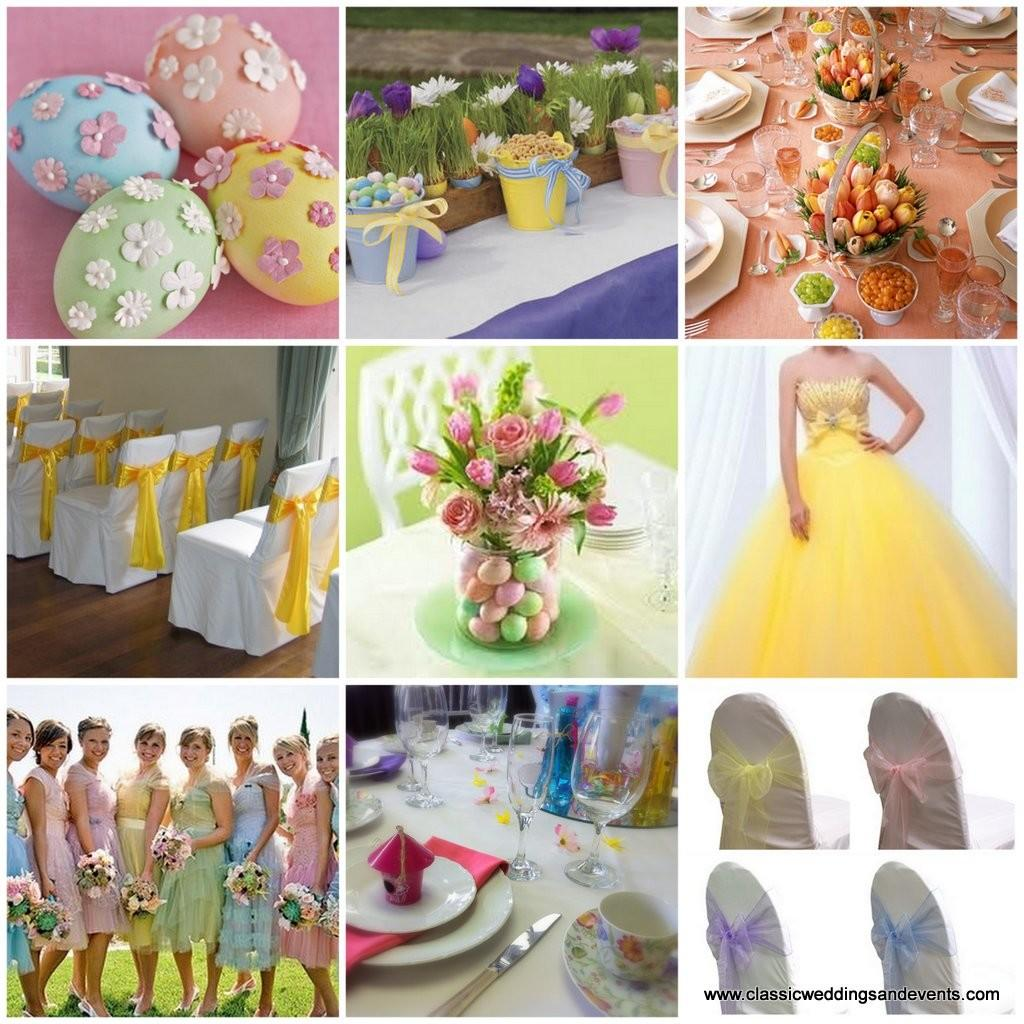 Classic Weddings Events Easter Wedding Party Ideas