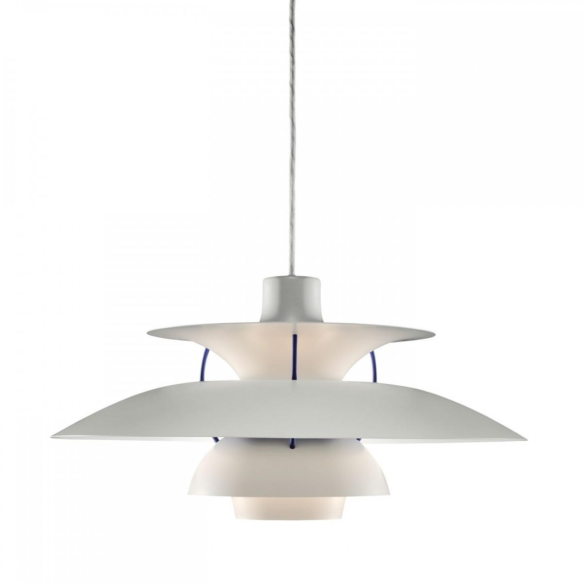 Classic White Pendant Lamp Danish Design Louis