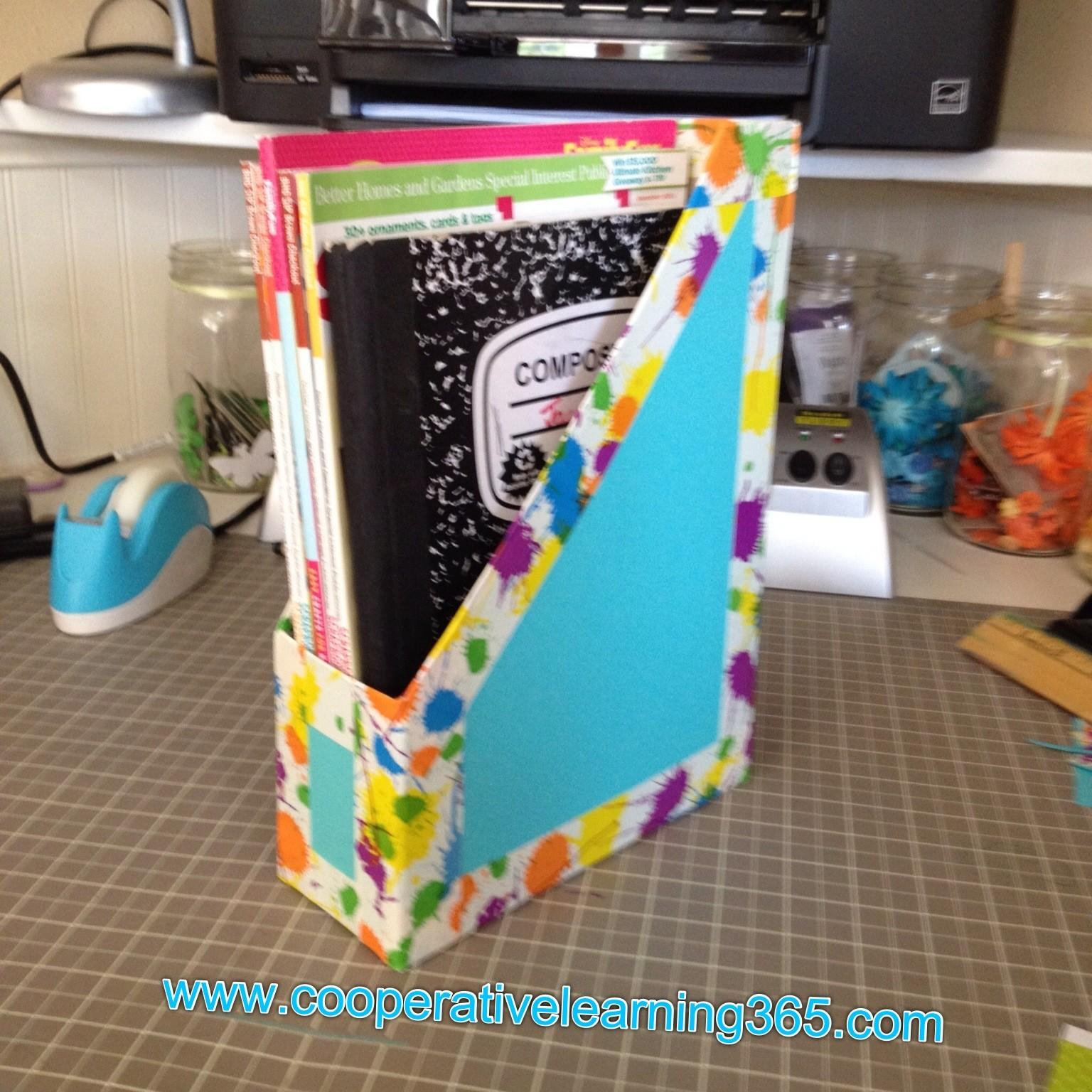 Classroom Diy Magazine Holders