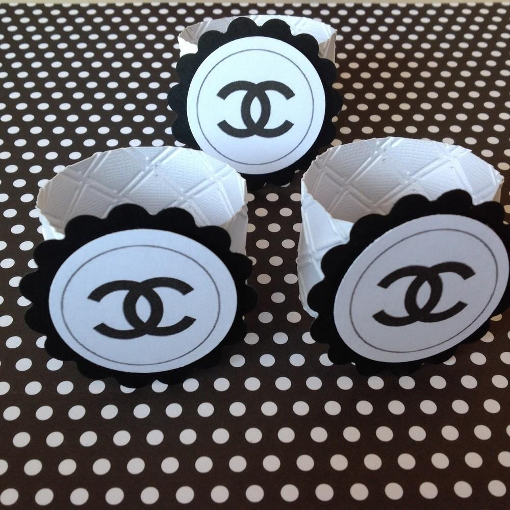 Classy Chanel Inspired Napkin Ring Holder Couture