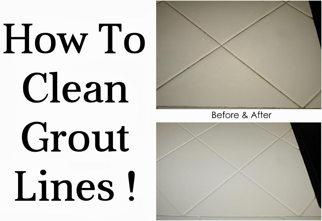 Clean Grout Lines Diy Craft Projects