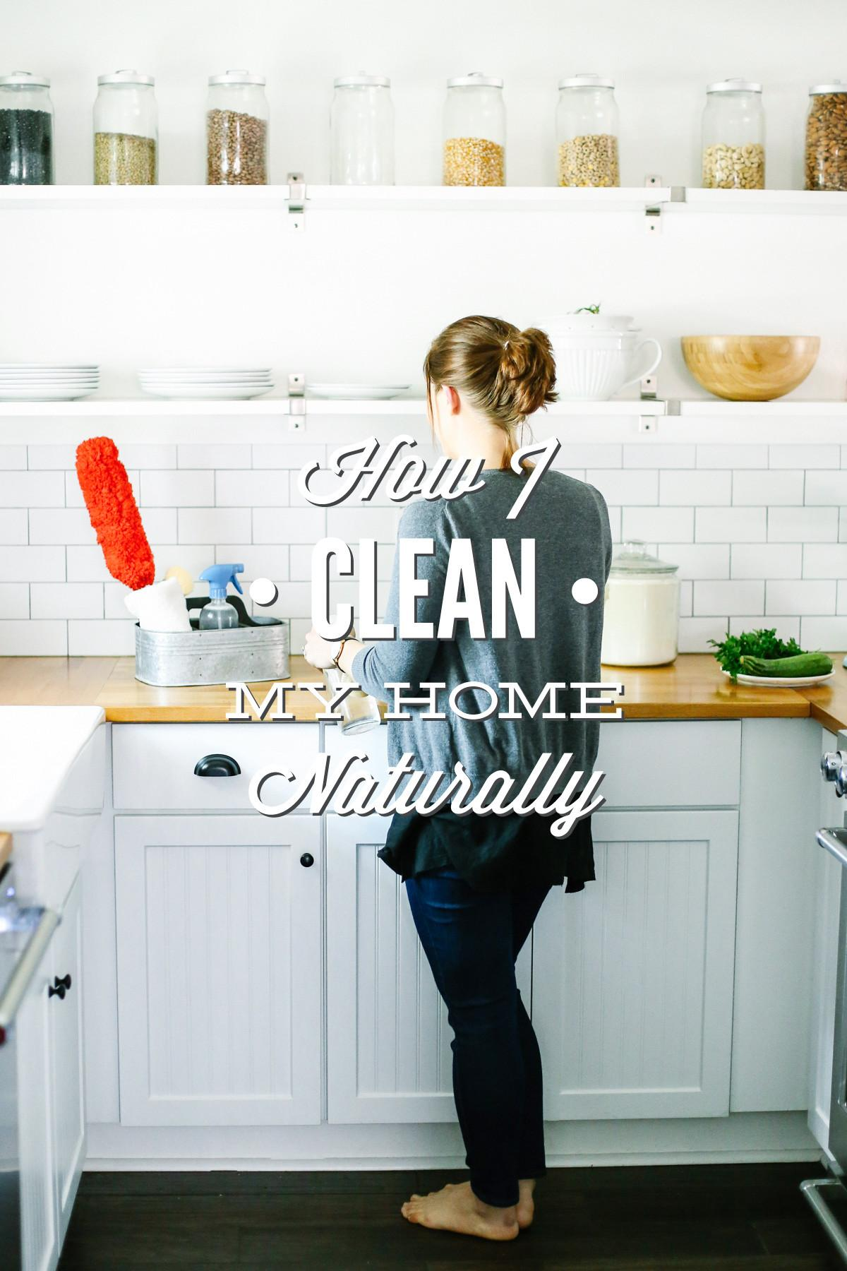 Clean Home Naturally Cleaning Tour Live Simply