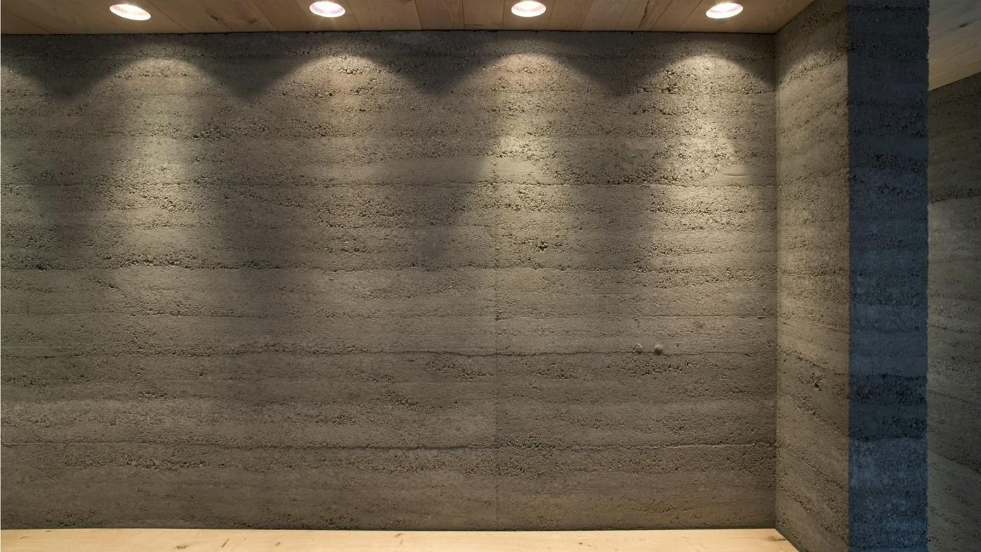Clean Interior Concrete Walls Reference
