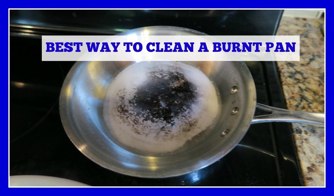 Clean Stainless Steel Burnt Pan Pot Easy