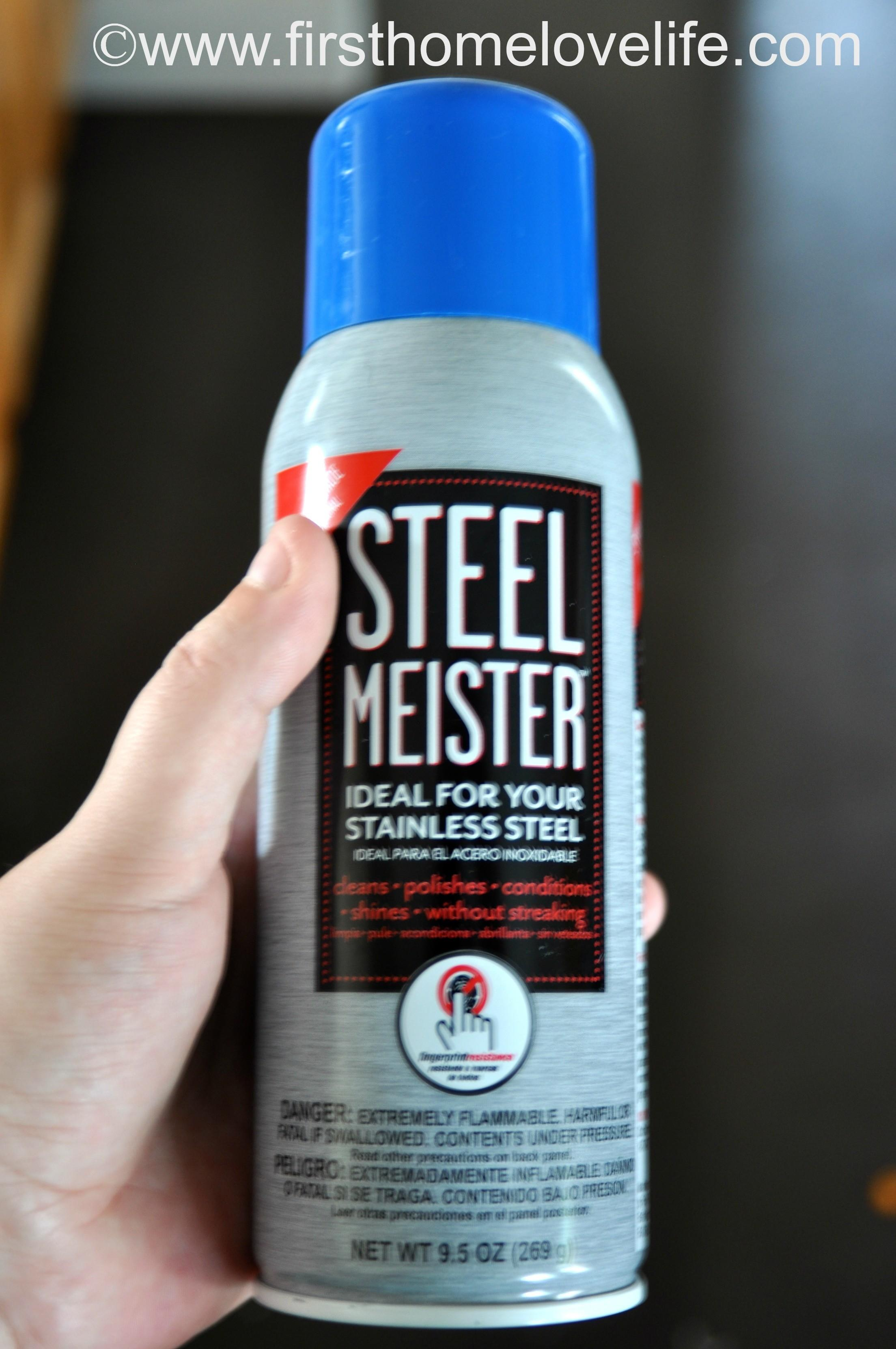 Clean Stainless Steel Meister First Home