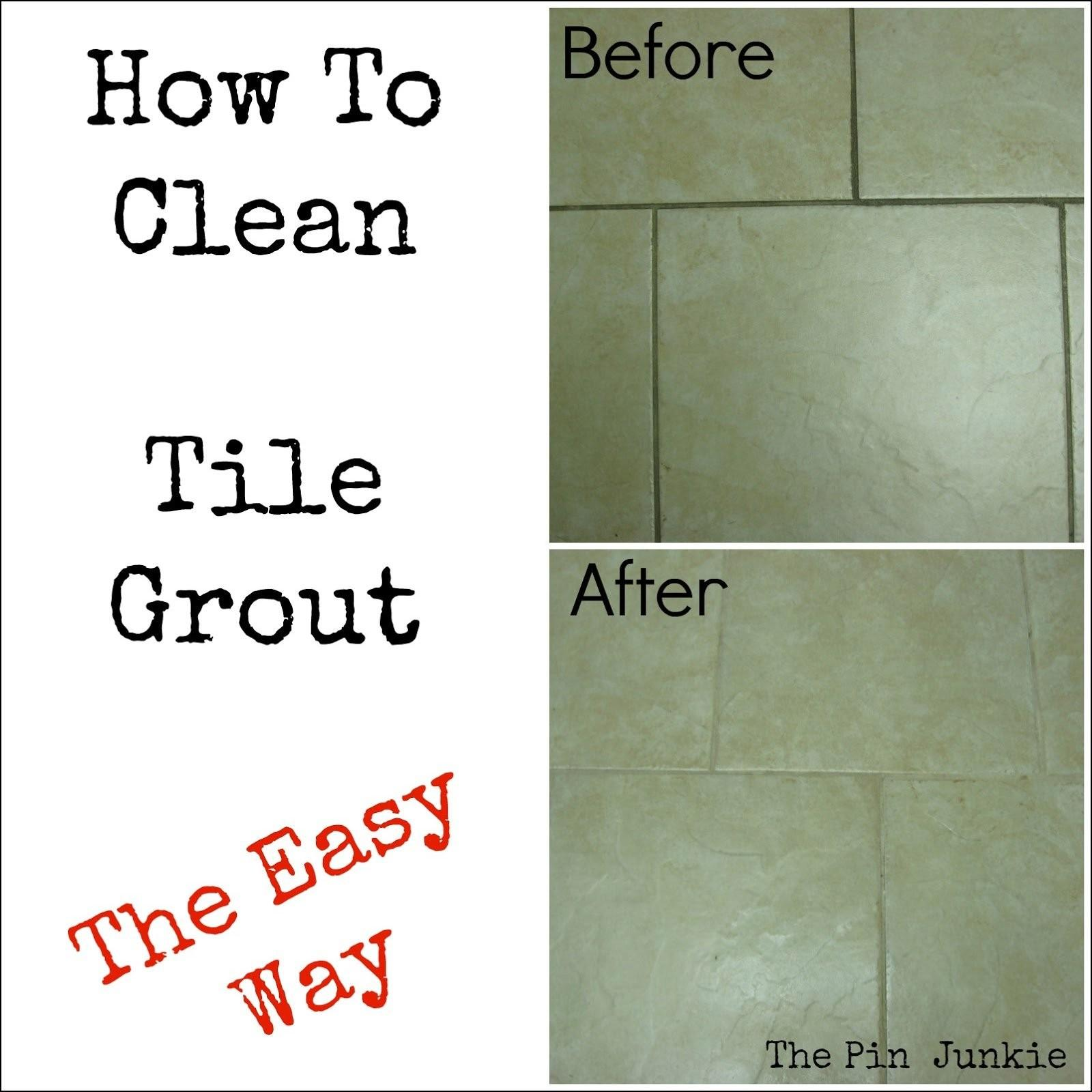 Clean Tile Grout Delightful