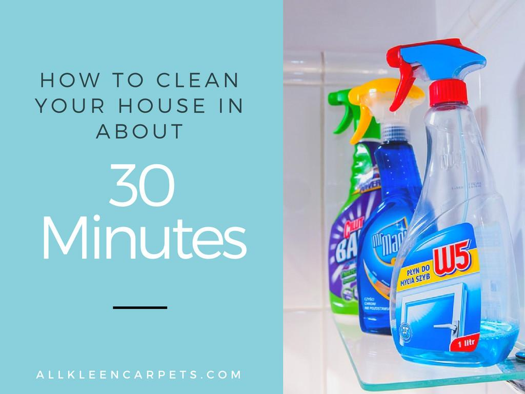 Clean Your Home Minutes All Kleen