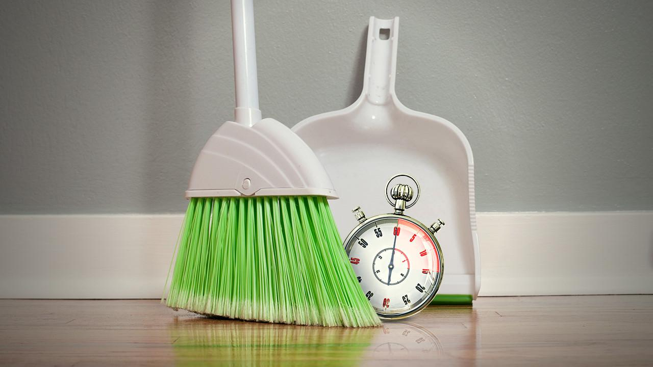 Clean Your House Minutes Less Lifehacker