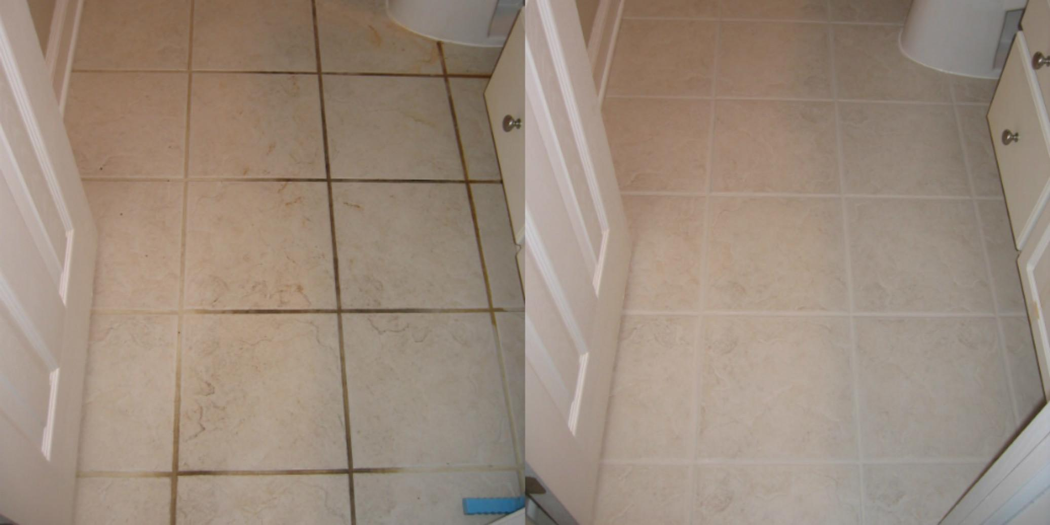Cleaning Bathroom Floor Tile Grout Room Design Ideas