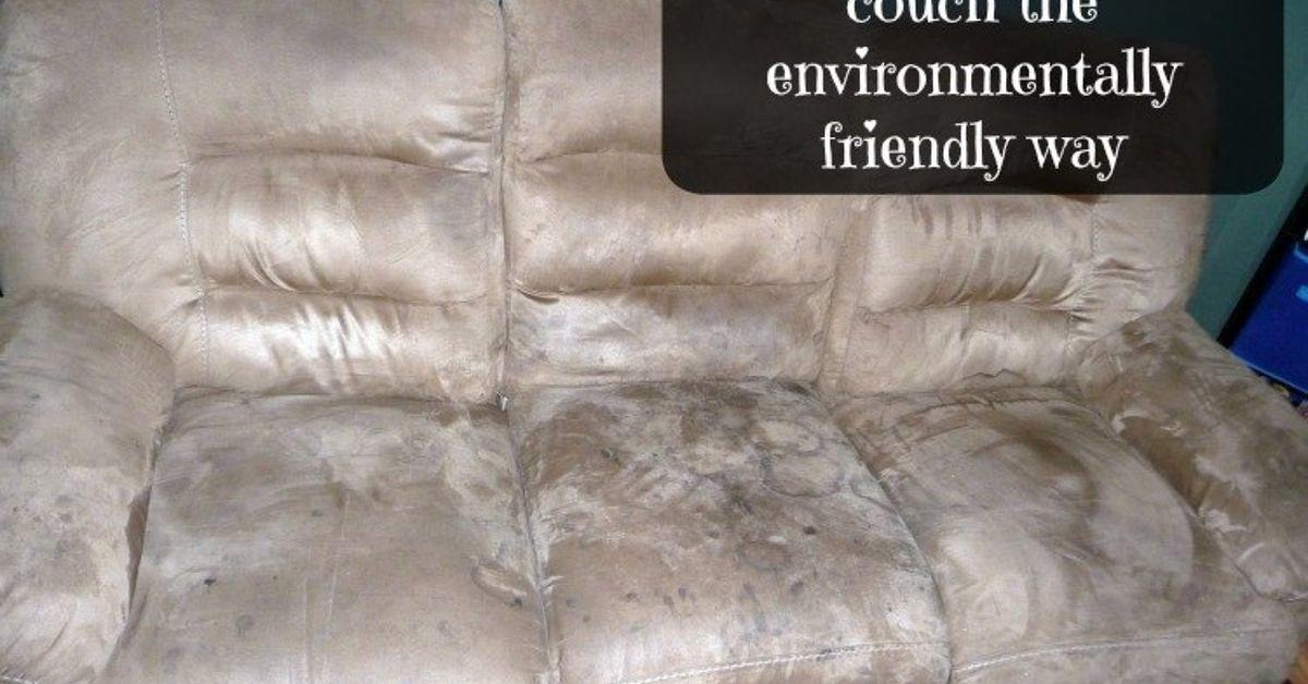 Cleaning Microfiber Couch Environmentally Friendly
