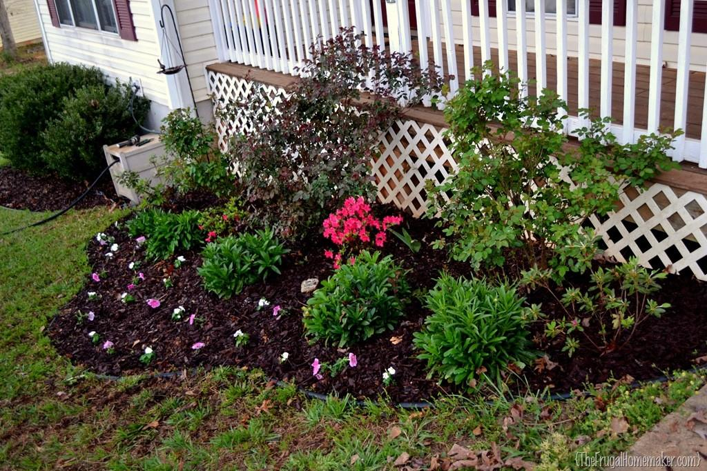 Cleaning Out Flower Beds Sprucing Outdoors