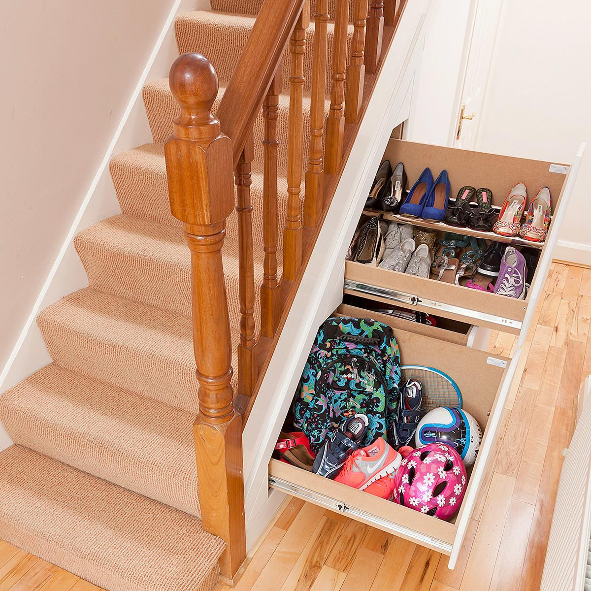 Clever Closet Drawer Understairs Storage Systems Degrees