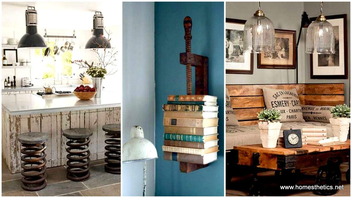 Clever Diy Industrial Furniture Projects
