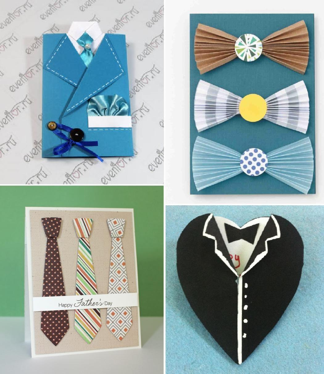 Clever Diy Shirt Tie Father Day Cards Createsie