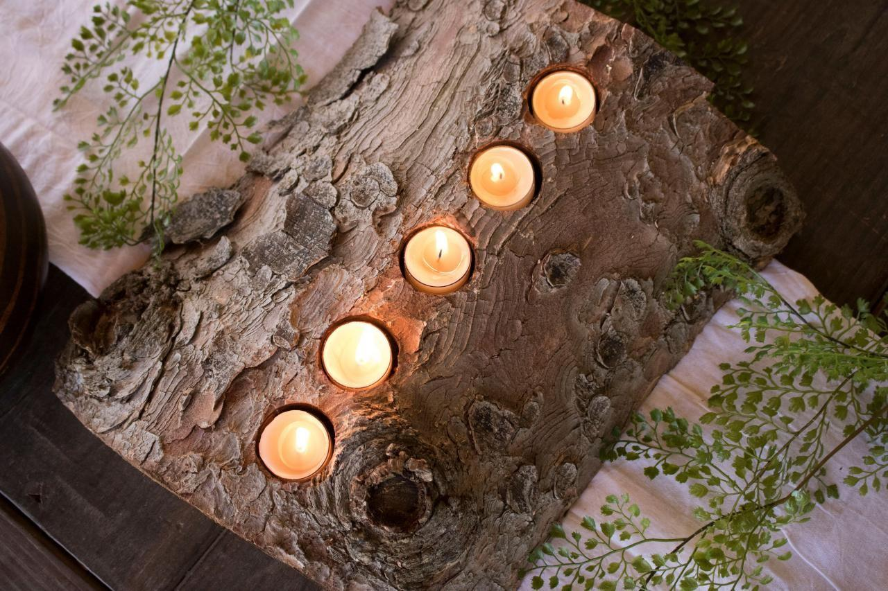 Clever Log Crafts Upcycling Ideas Diy Network Blog