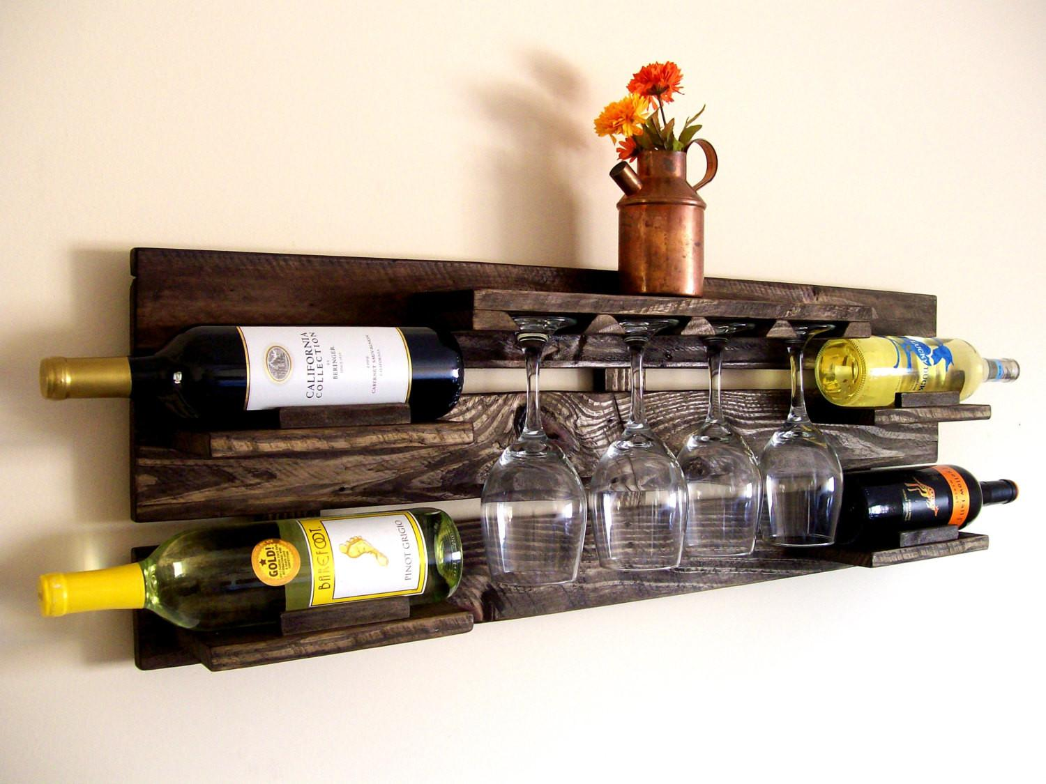 Clever Ways Adding Wine Glass Racks Your Home Cor