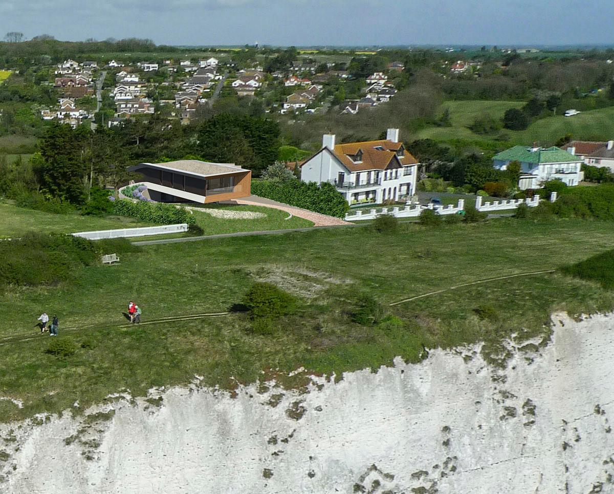 Cliff Top House Para Passivhaus Hawkes Architecture