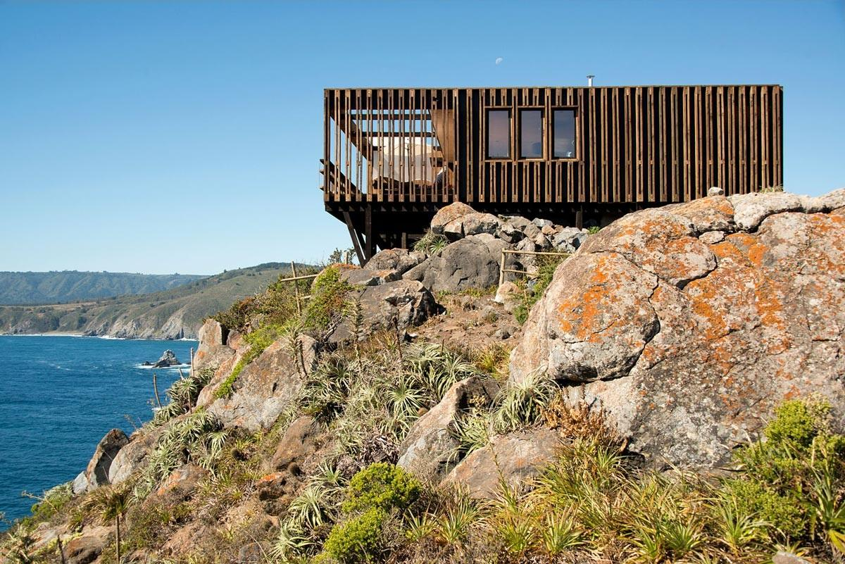Clifftop Home Panoramic Ocean Views Tunqu Chile