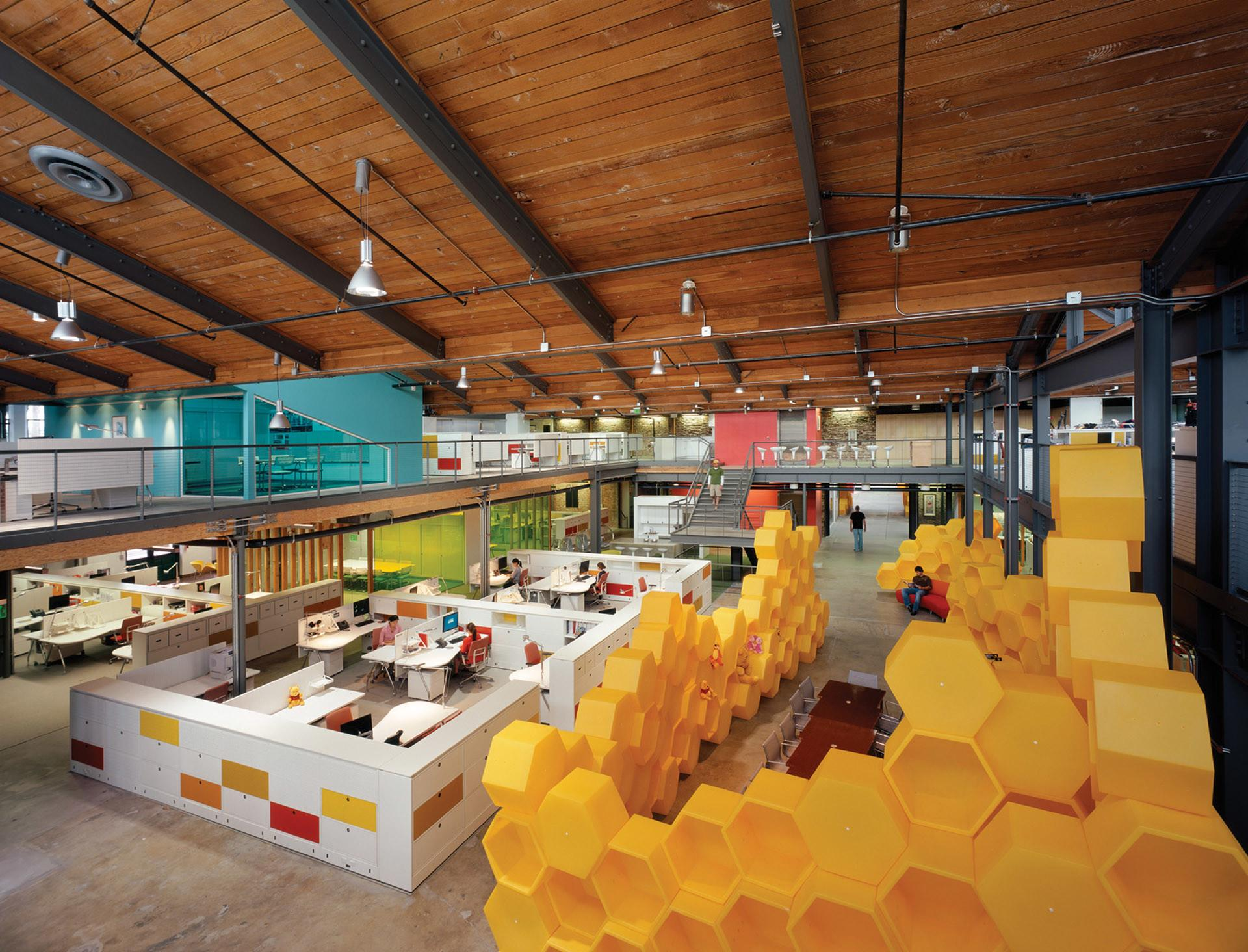 Clive Wilkinson Architects Disney Store Headquarters