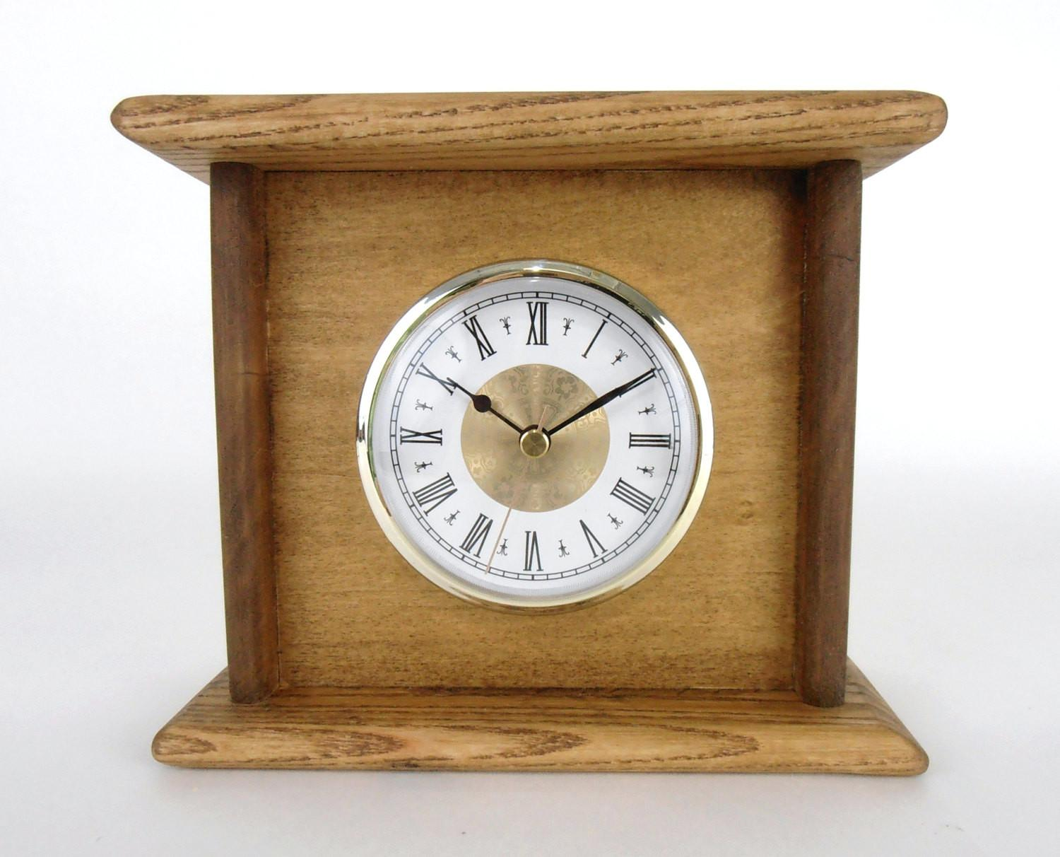 Clock Pallet Wood Rustic