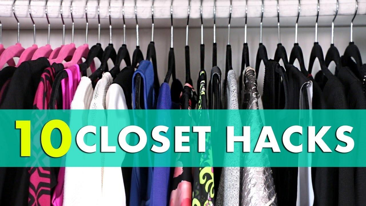 Closet Organization Hacks Tips
