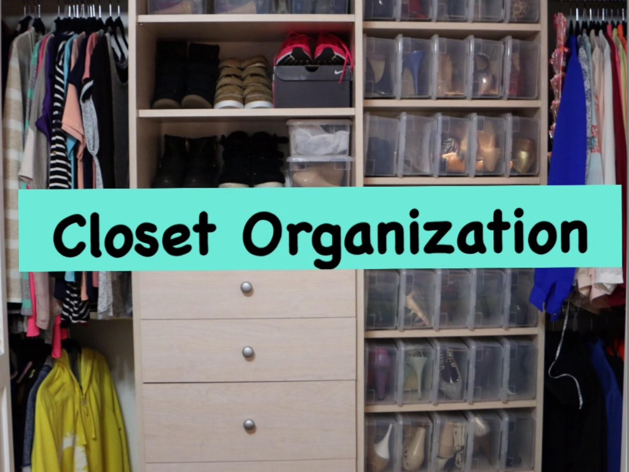 Closet Organization Tips Tricks Organize