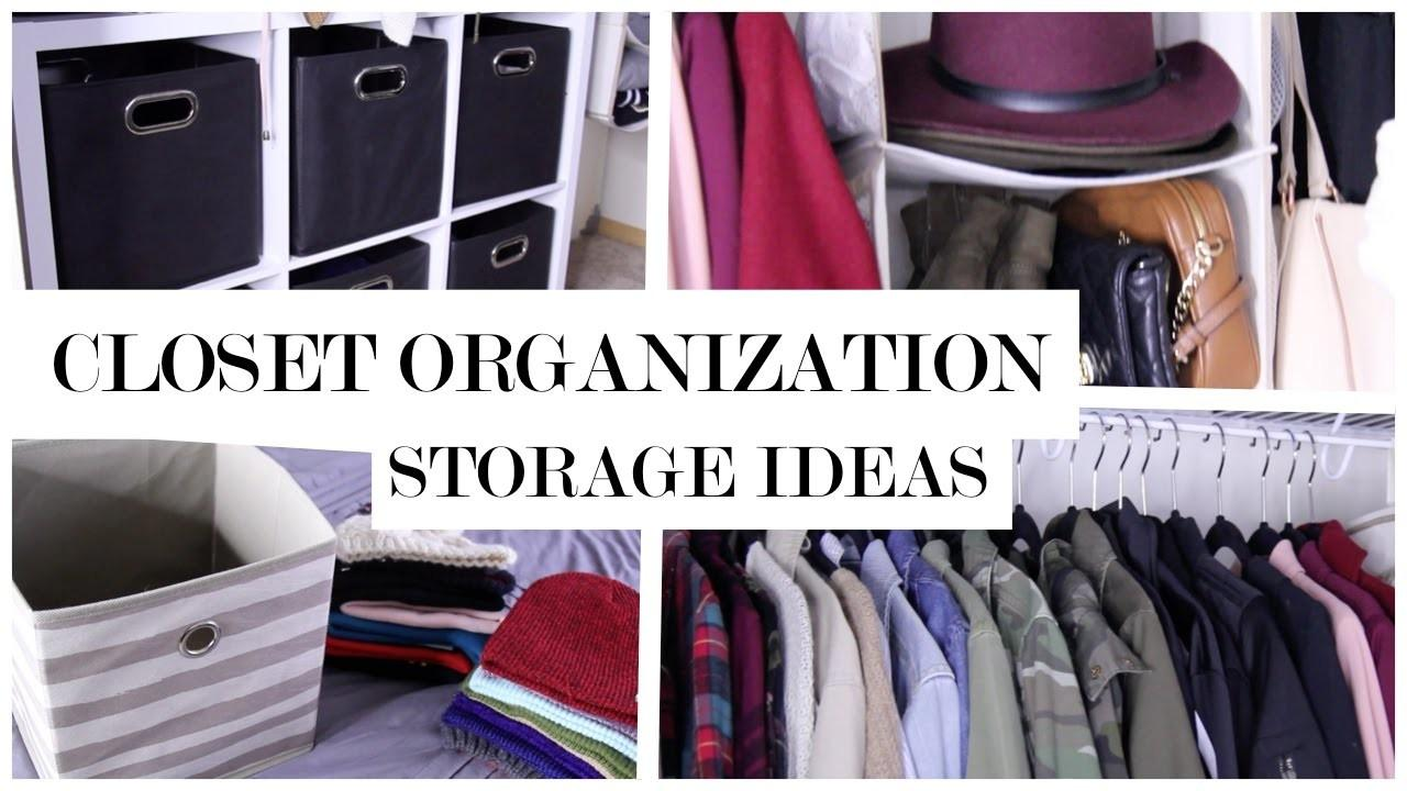 Closet Organizing Tips Athletic Apparel Storage Mp3