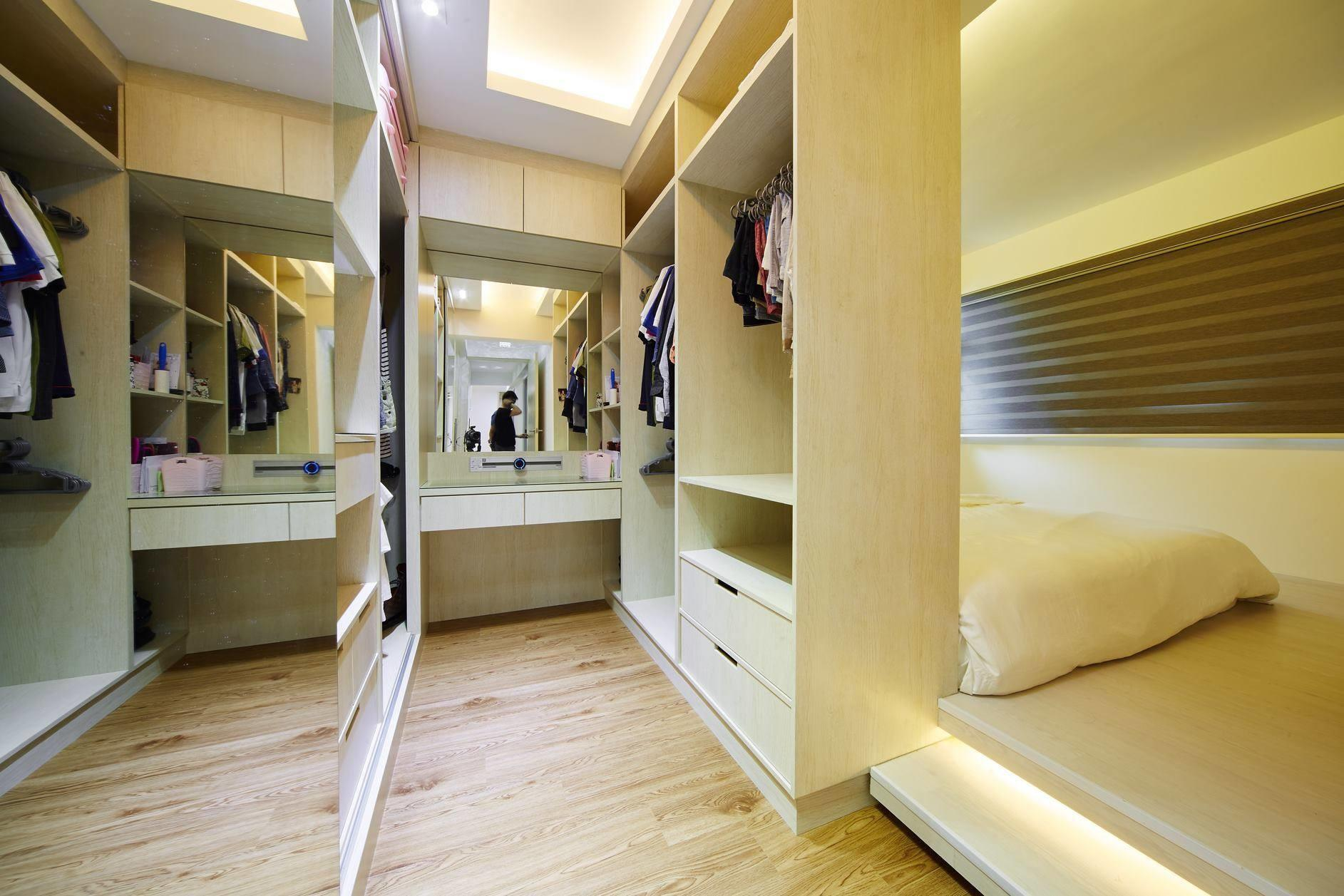 Closet Renovation Singapore Walk Wardrobe Ideas Tips