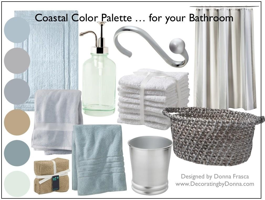 Coastal Color Palette Your Bathroom Decorating