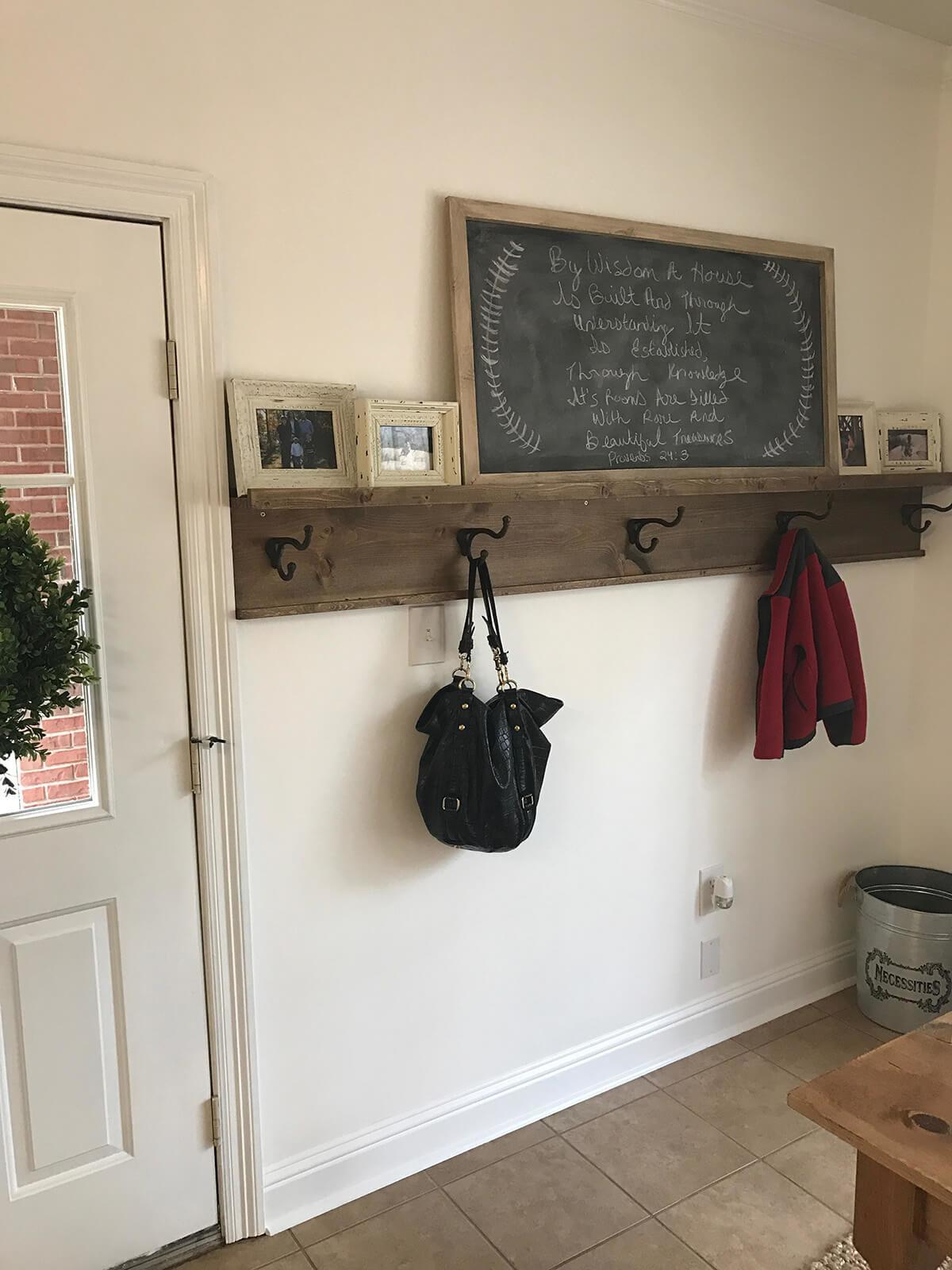 Coat Rack Ideas Want Your Home Crafts Fire