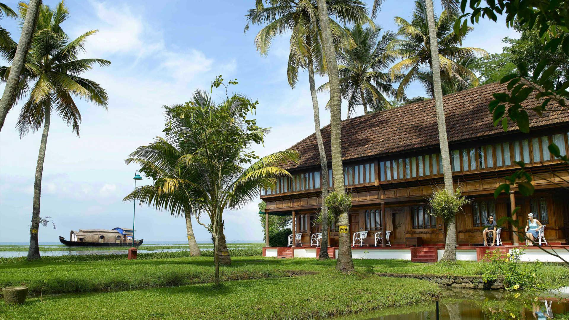 Coconut Lagoon Kuoni Hotel Kerala Backwaters