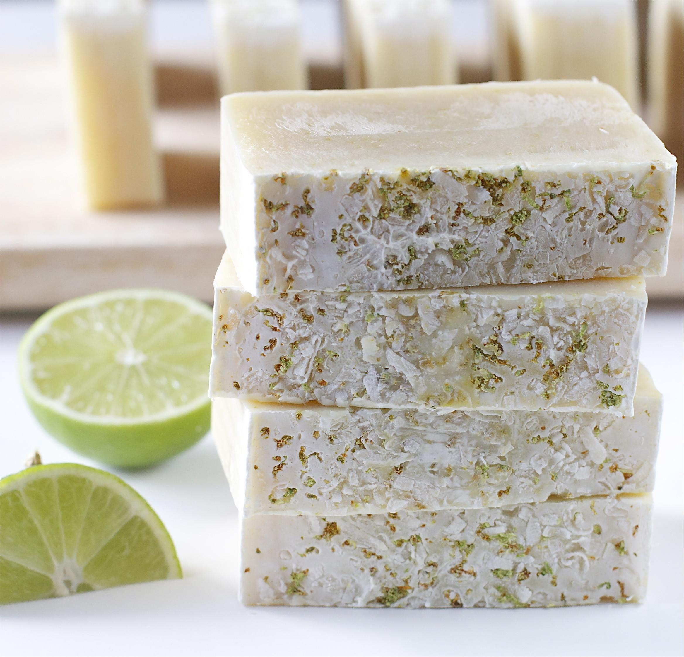 Coconut Lime Soap Offbeat Inspired