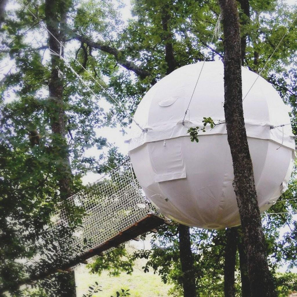 Cocoon Tree House Hanging Tent Hammock Town