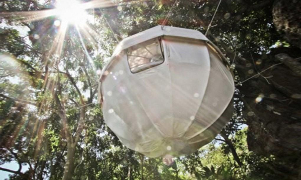 Cocoon Tree Lightweight Spherical Treehouse