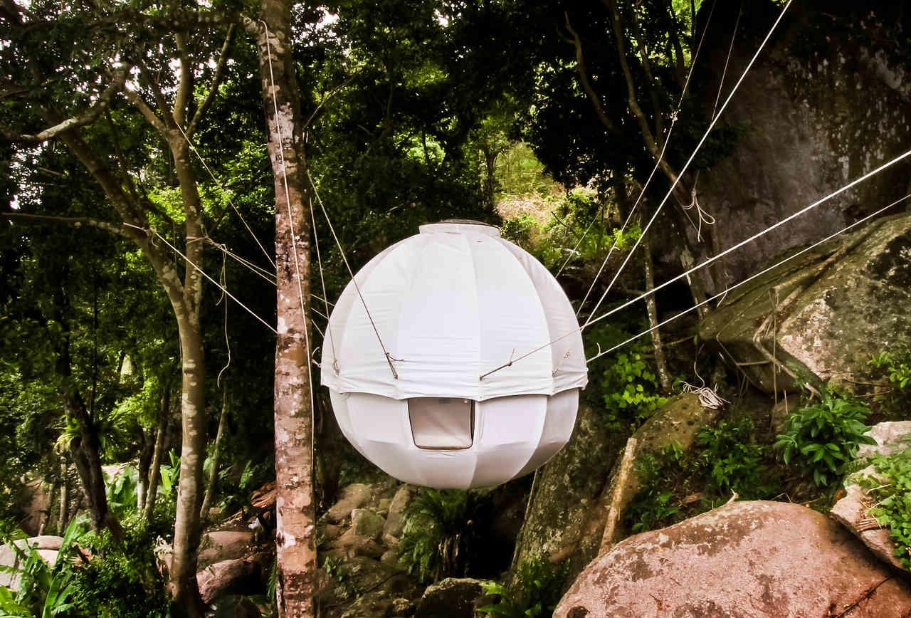 Cocoon Tree Tent Spherical Hanging Tents