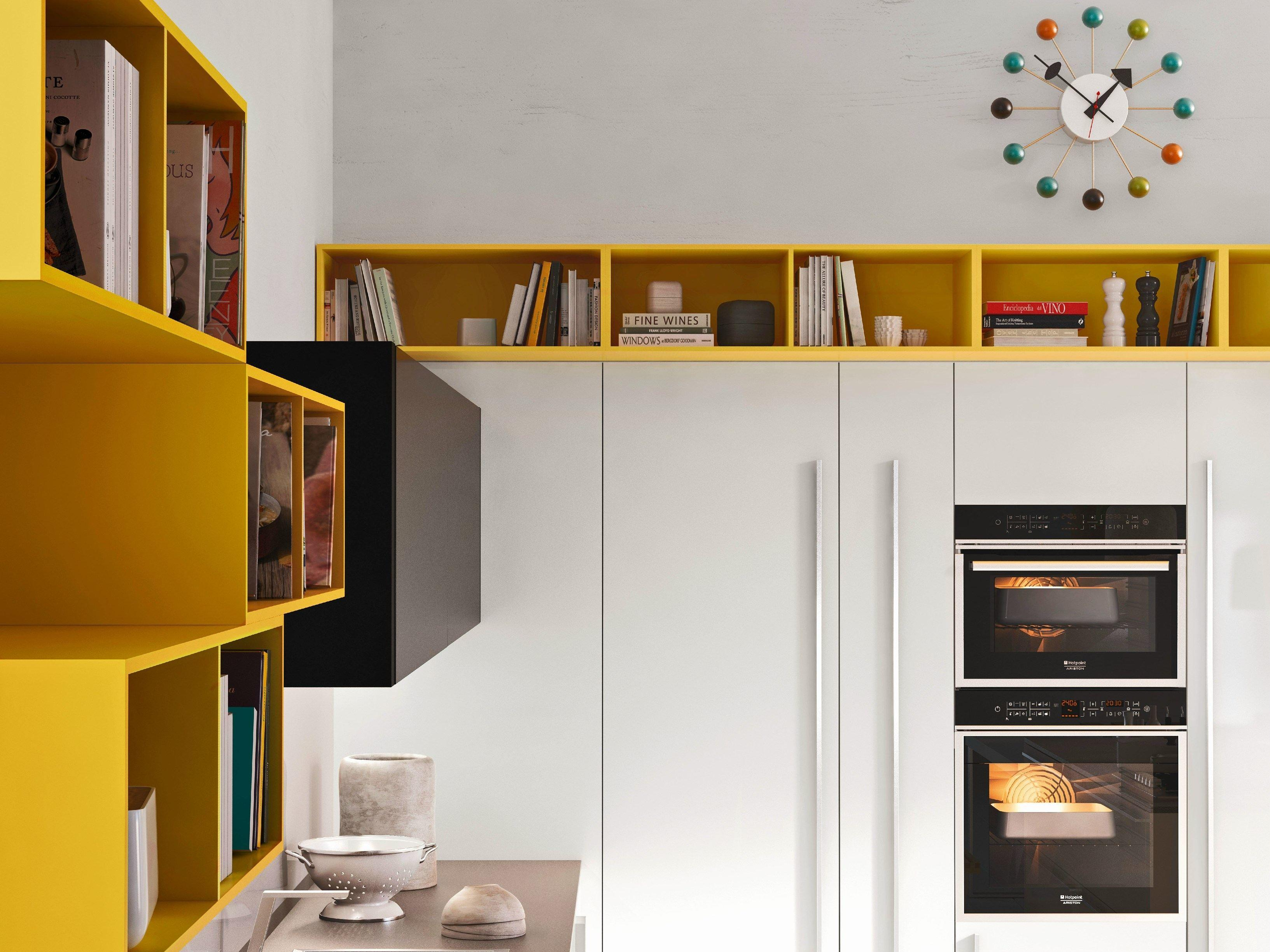 Code Kitchen Island Sistema Collection Snaidero