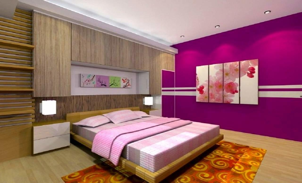 Codeartmedia Purple Brown Bedroom Decorating