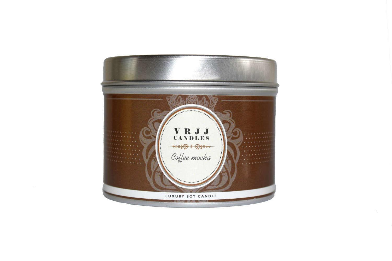Coffee Mocha Candle Scented